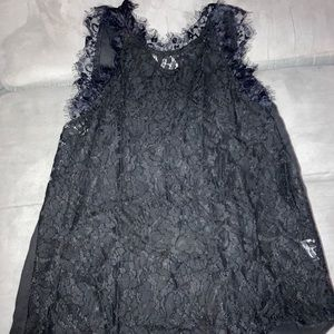 Shein Lace Front Sleevleless Top NWT